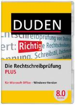 DVD-Cover des Duden Korrektor PLUS 8.0