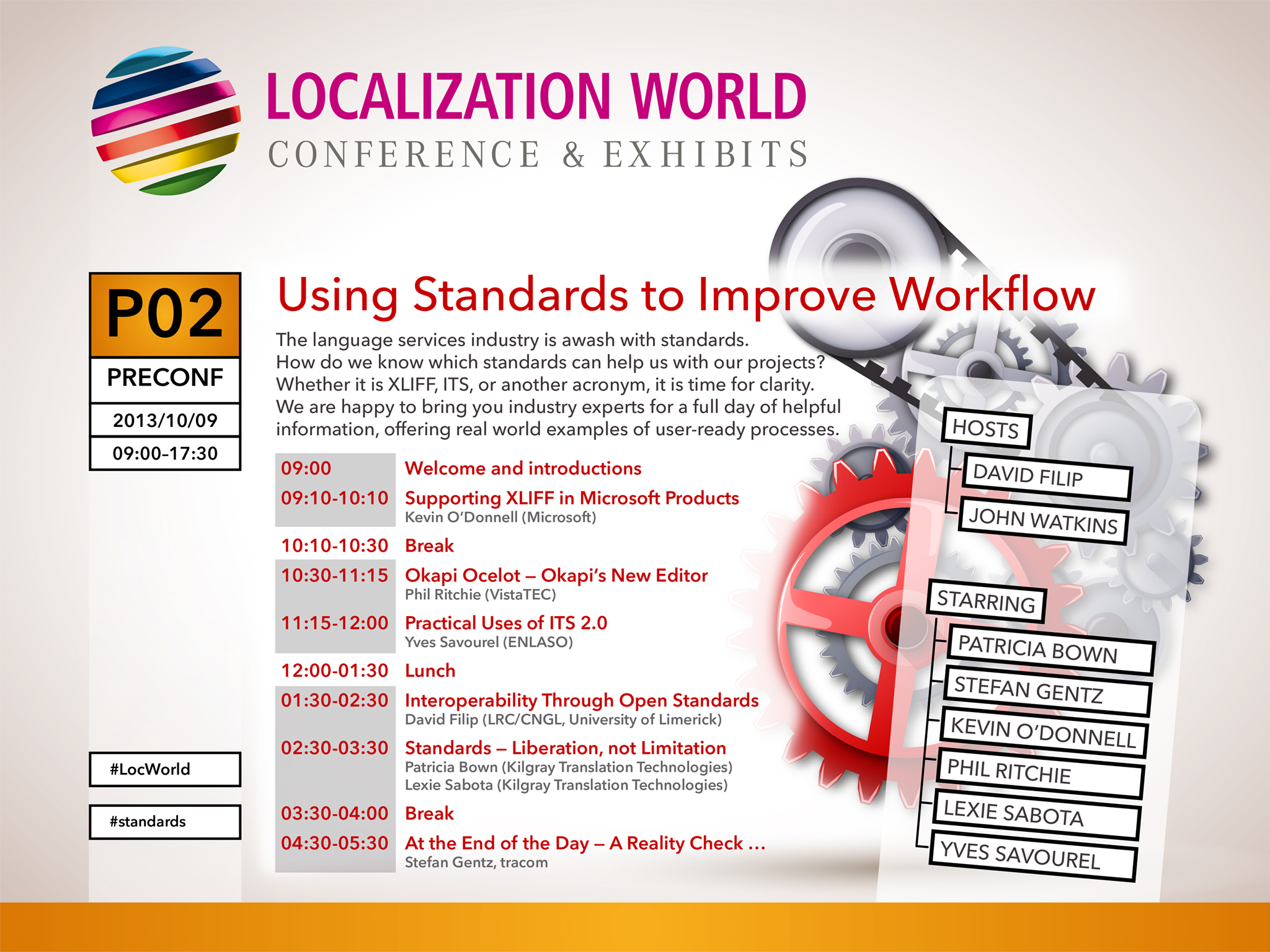 Standards Day at LocWorld Silicon Valley 2013