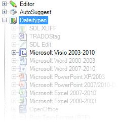 Microsoft Visio Filter für SDL Trados Studio File Types