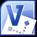 Dateisymbol von Microsoft Visio 2010