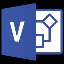 Dateisymbol von Microsoft Visio 2013