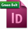 Adobe InDesign Green Belt