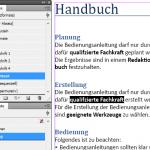 Das Bild zeigt einen selektierten Text. In den Absatz- und Zeichenformat-Katalogen sind die jeweils zugewiesenen Formate selektiert. Es gibt keine Formatüberrschreibung.