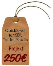 BroadVision QuickSilver Filter für SDL Trados Studio (Projekt)