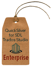 BroadVision QuickSilver Filter for SDL Trados Studio (Enterprise License)